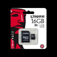 Kingston 16GB microSDHC C10 UHS-I (SDC10G2/16GB)