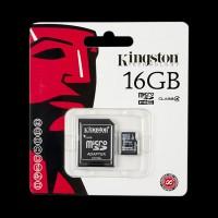 Kingston 16GB microSDHC C4+SD (SDC4/16GB)