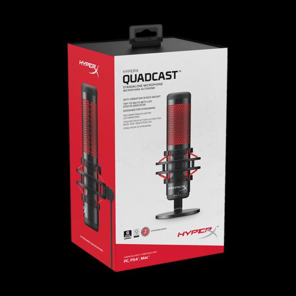 HyperX Quadcast (HX-MICQC-BK) стоимость