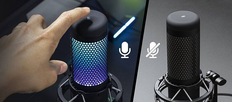 Сенсор выключения звука со светодиодным индикатором