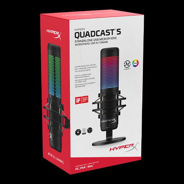 HyperX Quadcast S (HMIQ1S-XX-RG) в Украине