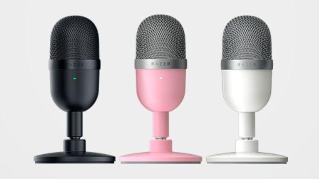 3 цвета микрофона