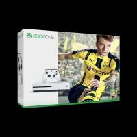 Microsoft Xbox One Slim 500Gb White + FIFA 17