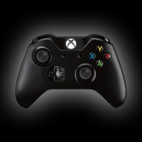 Microsoft Xbox One S Black Wireless Controller