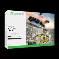 Microsoft Xbox One Slim 1 Tb White + FIFA 17 + Forza 3