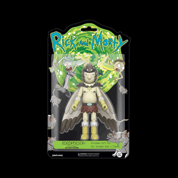 Action Figure: Rick & Morty: Bird Person (12928) фото