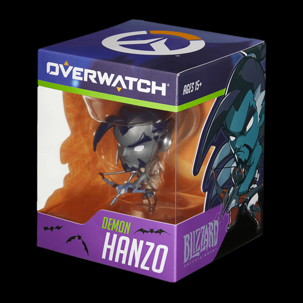 Blizzard Cute But Deadly Blind Vinyls - Demon Hanzo Figure (B63065) фото