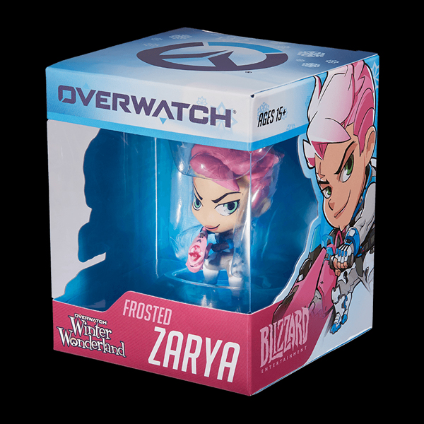 Blizzard Cute But Deadly Blind Vinyls - Frosted Zarya Figure (B63067) фото