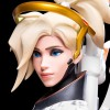 Blizzard Overwatch Mercy Statue (B62908) - изображение №5