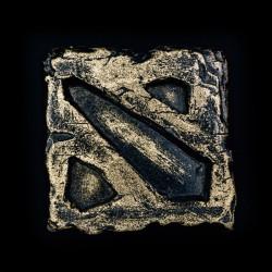 Dota 2 Logo Bronze
