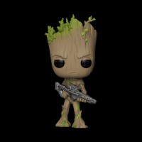 Funko POP! Bobble: Marvel: Avengers Infinity War: Groot (26904)