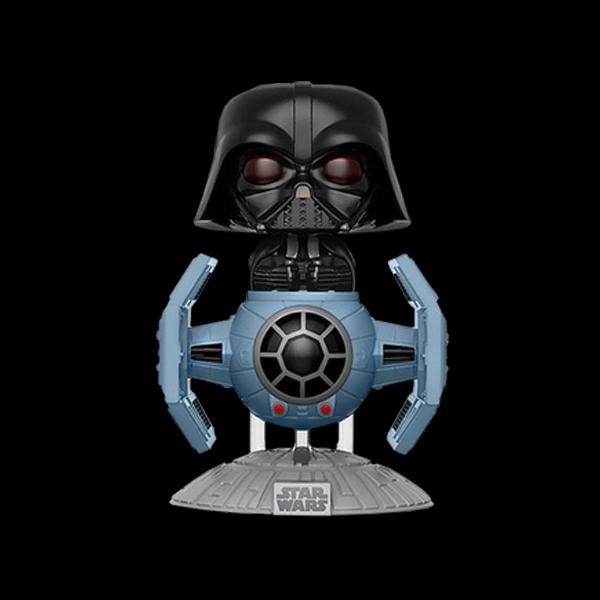 Funko POP! Bobble: Star Wars: Tie Fighter w/ Darth Vader (Exc) купить