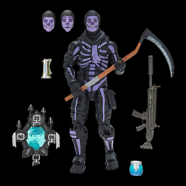 Jazwares Fortnite Legendary Series Skull Trooper (FNT0065) описание