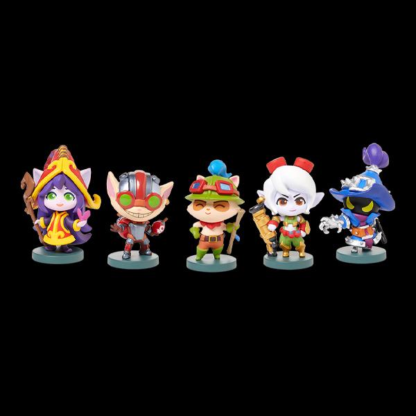 League of Legends Yordle Team Minis Set (1590-00-00) купить
