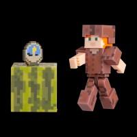 Minecraft Alex in Leather Armor серия 4 (19975M)