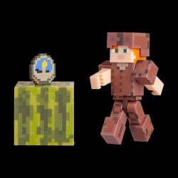 Minecraft Alex in Leather Armor серия 4 (19975M)