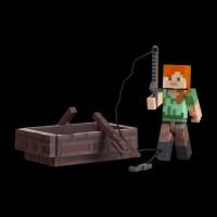 Minecraft Alex with Boat серия 3 (16491M)