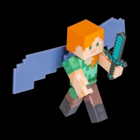 Minecraft Alex with Elytra Wings серия 4 (16492M)