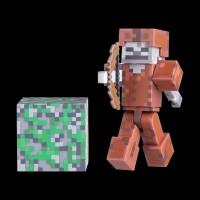 Minecraft Skeleton in Leather Armor серия 3 (16487M)