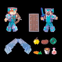 Minecraft Steve & Alex набор 2 шт. (16472M)