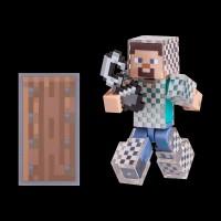 Minecraft Steve in Chain Armor серия 4 (16493M)