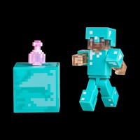 Minecraft Steve with Invisibility Potion серия 4 (19976M)