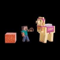 Minecraft Steve with Llama серия 4, набор 2 шт. (16602M)
