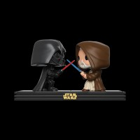 Funko POP! Bobble 2-Pack: Star Wars: Movie Moments: Darth Vader & Obi Wan Kenobi (Exc) (23232WM)
