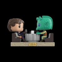Funko POP! Bobble 2-Pack: Star Wars: Movie Moments: Han Solo & Greedo Cantina (Exc) (23229WM)
