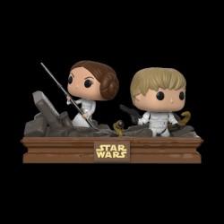 Funko POP! Bobble 2-Pack: Star Wars: Movie Moments: Luke & Leia Trash Compactor (Exc) (23201WM)
