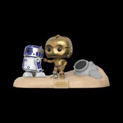 Funko POP! Bobble 2-Pack: Star Wars: Movie Moments: R2-D2 & C-3PO Desert (Exc) (23226WM)