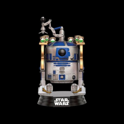Funko POP! Bobble: Star Wars: Jabba\'s Palace R2-D2 (Exc)