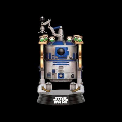 Funko POP! Bobble: Star Wars: Jabba\'s Palace R2-D2 (Exc)