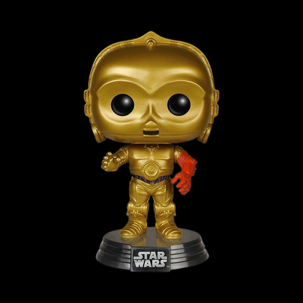 POP! Bobble: Star Wars: The Force Awakens: C-3PO (6219) купить