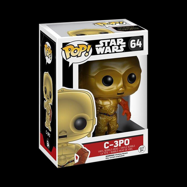 POP! Bobble: Star Wars: The Force Awakens: C-3PO (6219) фото