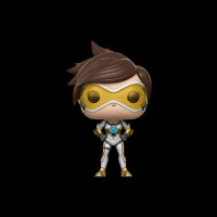 Funko POP! Vinyl: Games: Overwatch: Tracer (Posh) (Exc) (13441)
