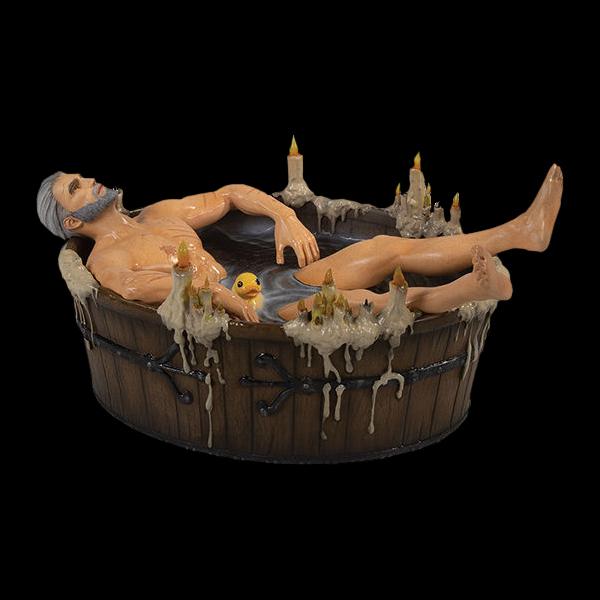 The Witcher 3: Wild Hunt: Geralt in Bath (761568003505) купить
