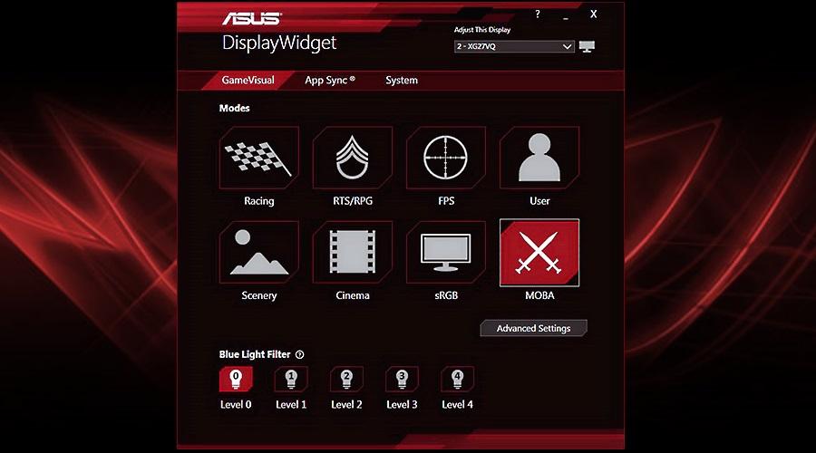 программа DisplayWidget