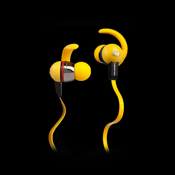 Monster iSport LiveStrong with ControlTalk Yellow купить