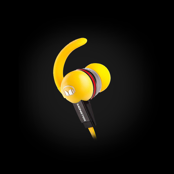 Monster iSport LiveStrong with ControlTalk Yellow цена