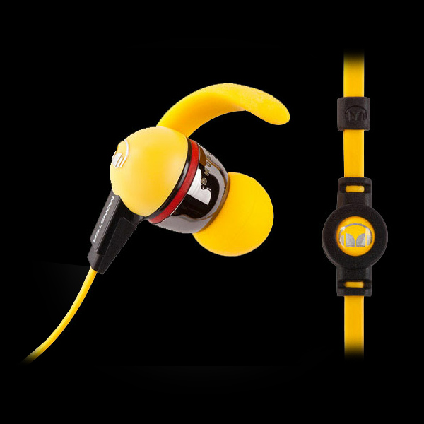 Monster iSport LiveStrong with ControlTalk Yellow фото