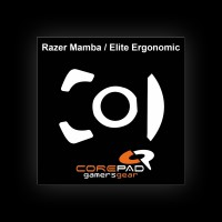 Corepad Glides for Razer Mamba/Elite Ergonomic