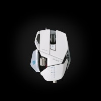 MadCatz R.A.T. 5 Gaming Mouse White (MCB437050001/04/1)
