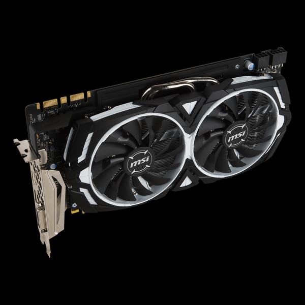 MSI GeForce® GTX 1080 Armor OC 8G (GTX1080-ARMOR-OC-8G) купить