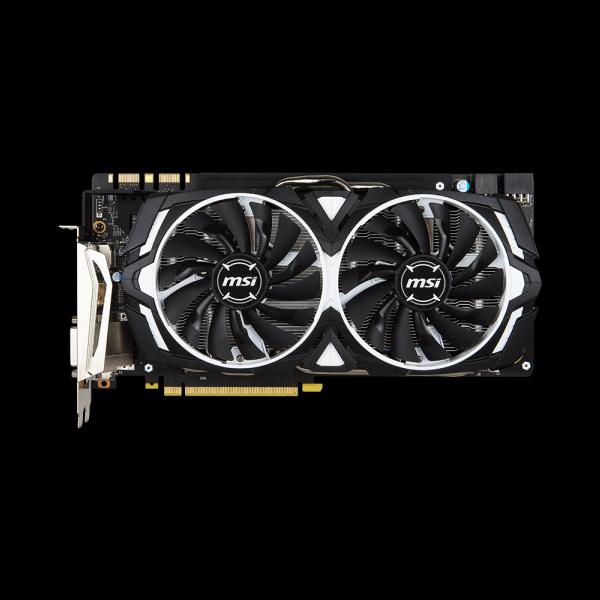 MSI GeForce® GTX 1080 Armor OC 8G (GTX1080-ARMOR-OC-8G) цена
