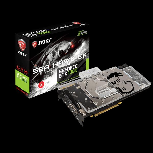 MSI GeForce GTX 1080 Sea Hawk EK X стоимость
