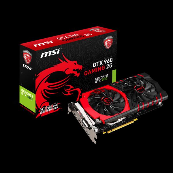 MSI GeForce GTX 960 Gaming 2G LE фото