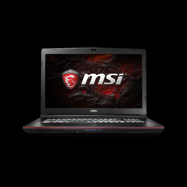 Ноутбук MSI GP72 7RDX-489XRU 9S7-1799B3-489 (Intel Core i5-7300HQ 2.5 GHz/16384Mb/1000Gb/DVD-RW/nVidia GeForce GTX 1050 2048Mb/Wi-Fi/Bluetooth/Cam/17.3/1920x1080/DOS)