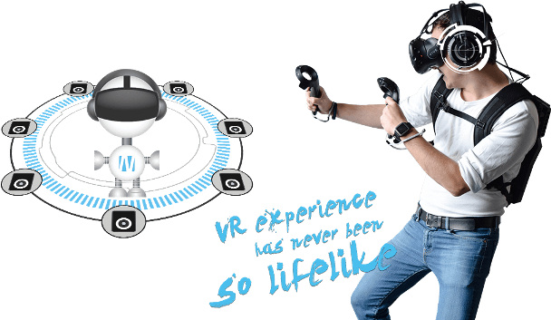 Vr experience has never been so lifelike