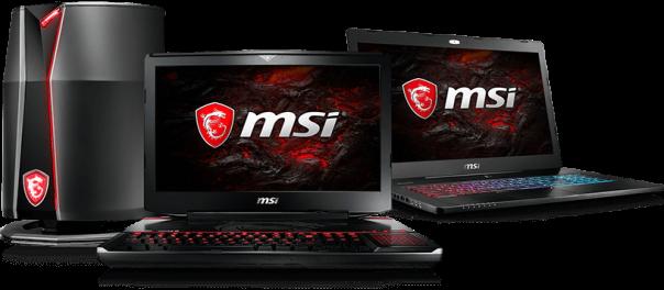 Ноутбуки и пк MSI
